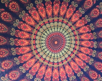 Summer sarong in the mandala design