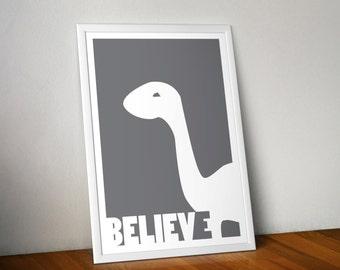 Believe Series - Brontosaurus