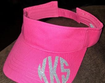 Monogram hat or visor
