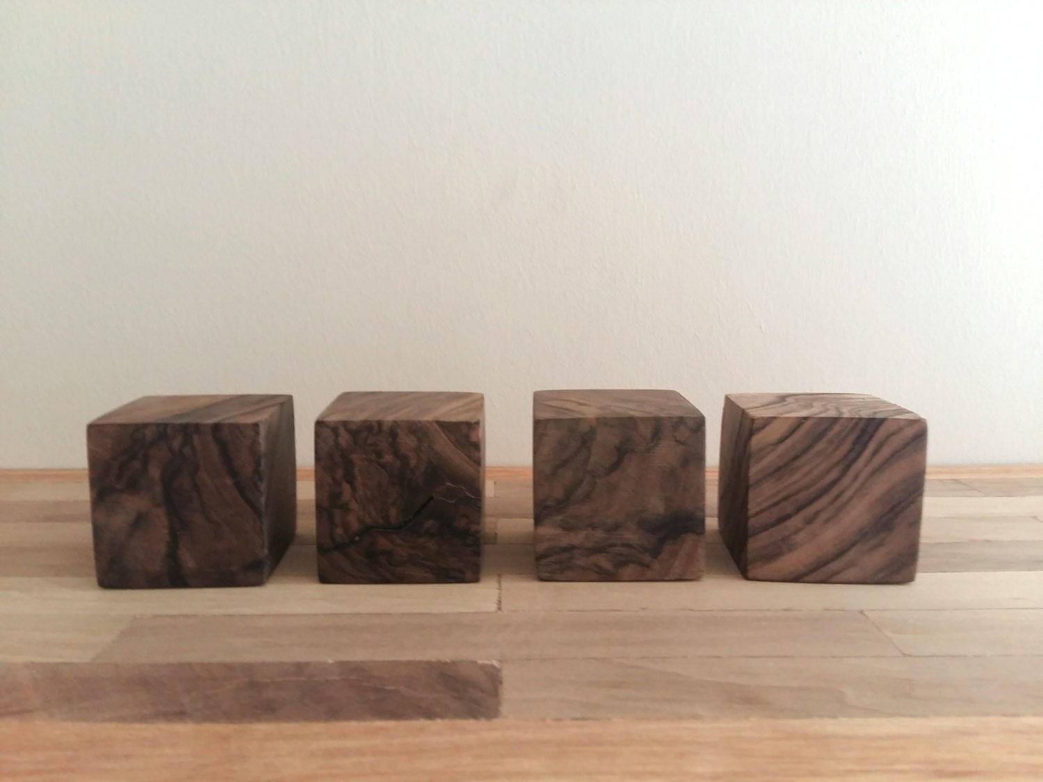 inches wooden blocks walnut wood cubes unfinished wooden