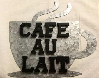 Cafe Au Lait Wall Decor
