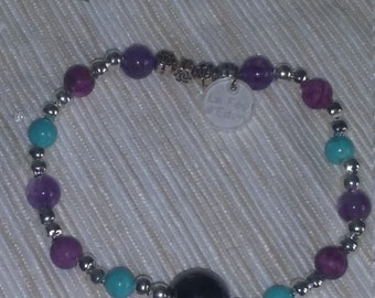 Stones semi precious bracelet