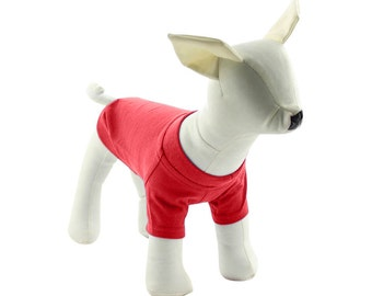 Red Dog T-Shirt - Dog Tees - Dog Shirts - Pet Shirts - XXS to XXL