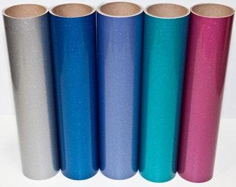 Glitter Outdoor Vinyl - FDC 3700 Ultra Metallic Film - Glitter 651 - Glitter Adhesive Vinyl