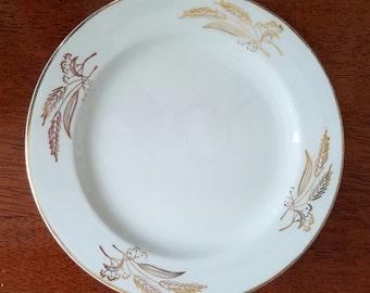 Lifetime China Co Prairie Gold Dessert Plates (set of 4)