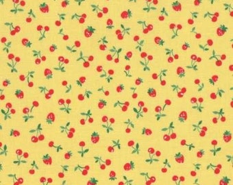 Sale! Old New 30's (Berries) by Lecien in Yellow