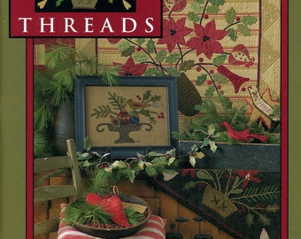 Holly Threads by Need'l Love Multiple Needlework Projects