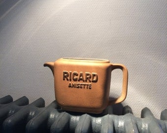 French Vintage - 1970s - Ricard Anisette pitcher