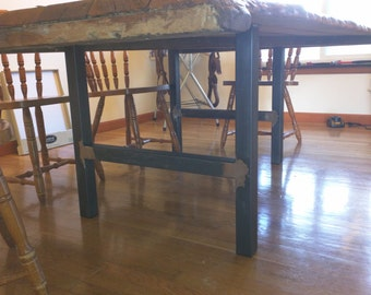 Metal Table Legs, H-Frame Style - Any Size & Color!