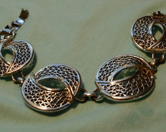 Silver Sarah Coventry Bracelet