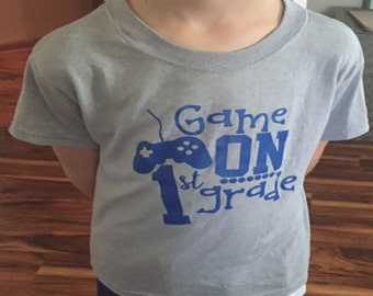 Game On - First Grade T-Shirt