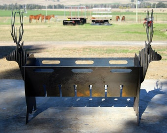 Fire Pit - Stag (Red Deer)