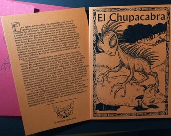 Chupacabra Greeting Card