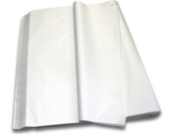 WHITE - Acid Free Luxury Tissue Paper Sheets 750mm x 500mm