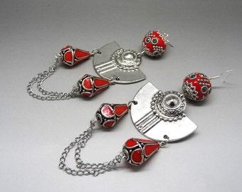 ethnic earrings style incas