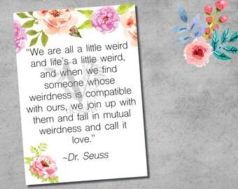 Dr Seuss Poem