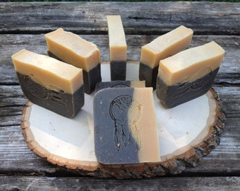 Dreamcatcher Soaps - Oatmeal, Orange, Pumpkin and Brown Sugar Bar Soap - FALL SCENT - LIMITED