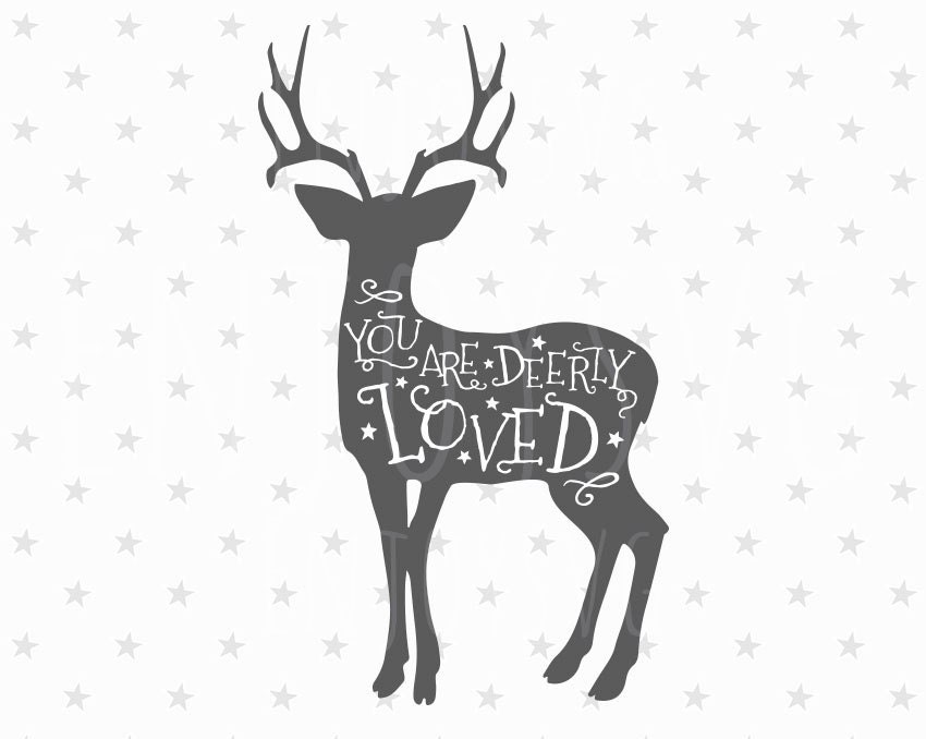 1821+ You Are Loved Svg Crafter Files