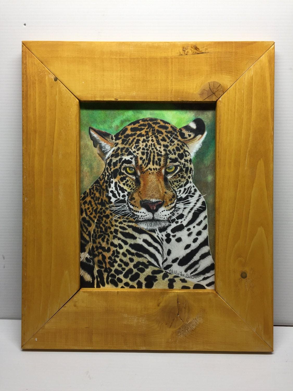 Rustic handmade custom distressed wood frame art frame picture frame jeuxipadfo Images