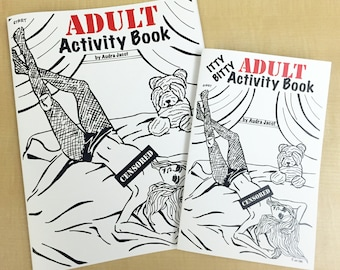 Itty Bitty Adult Activity Book