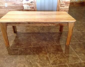 Honey locus coffee table