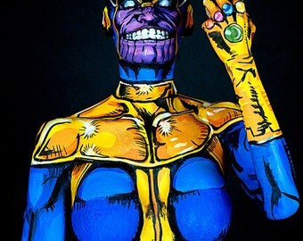 Thanos Bodypaint 8.5x11 Print