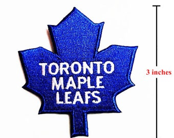 Toronto Maple Leafs  Logo Embroidered Iron on Patches.