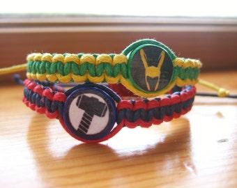 Thor and Loki Inspired Friendship Bracelets