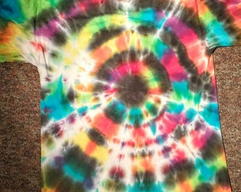Black Hole Tie Dye T-Shirt