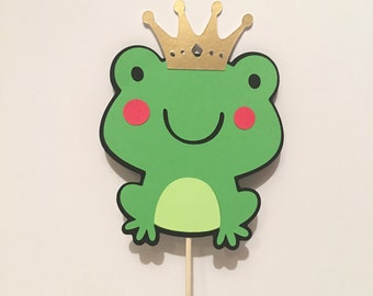 Frog cake topper – Etsy