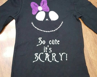 So Cute It's Scary Long-sleeved Shirt