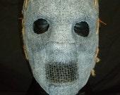 Burlap Half Mask
