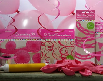 Essential Pink Theme Party Box