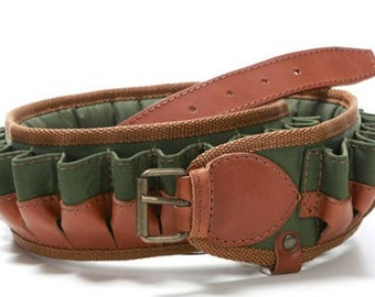 padded cartridge belt