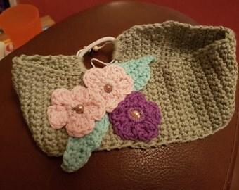 Crochet hairband 100% Cotton