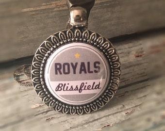 Sports Necklace, Custom, Interchangeable, Sports Mom, Kids Team, Soccer, Baseball, Football, Basketball, Softball, Pendant, Blissfield