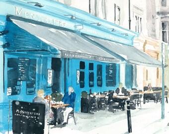High Quality Print - Montpeliers Bar, Edinburgh