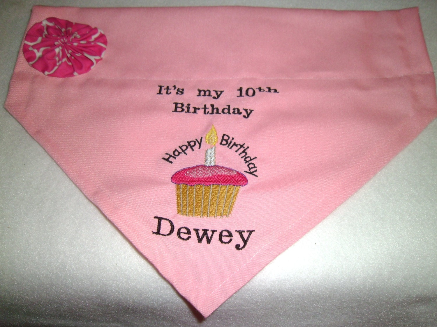Birthday Dog Bandana Uk Over Collar