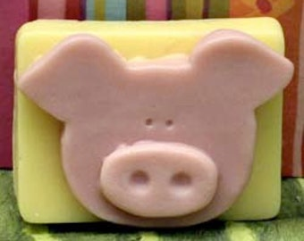 Used Soap Mold Pig