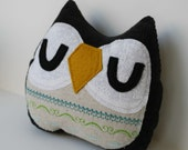 Maeve the Owlet little owl pillow plushie