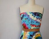 tie dye festival skirt vintage