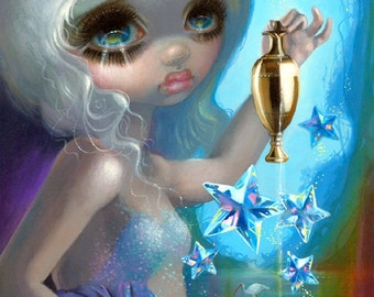 The Star art print by Jasmine Becket-Griffith BIG 12x18 fairy goddess tarot card deck stars
