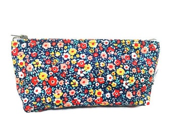 Small Makeup Bag, Cosmetic Bag, Makeup Case, Zipper Pouch, Women's Toiletry Bag, Beauty Bag