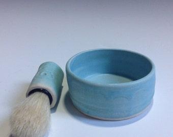 Tropical Shaving Mug and Brush
