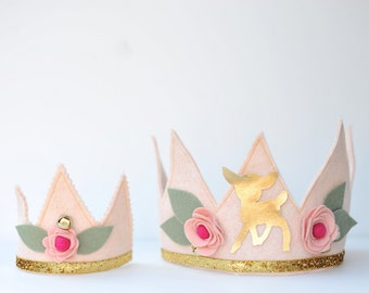Holiday Hat Cheery Cordial Crown Dolly & Me set Photo Prop