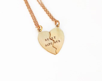 Best Bitches Bestie Necklace