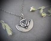 earthing ... silver pendant