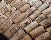 Reserved for Lynne-- 50 wine aficionado tapered Corks, vintage and newer (no plastic!)