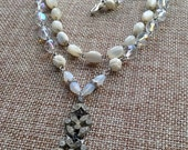 Charlotte bridal necklace