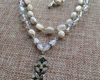 Charlotte bridal necklace